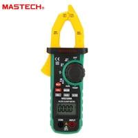 Mastech MS2109A Auto Range Digital AC DC Current Clamp Meter Multimeter HZ Temp Capacitance Tester with NCV Detector Multimeters     -