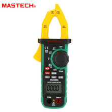 Mastech MS2109A Auto Range Digital AC DC Current Clamp Meter Multimeter HZ Temp Capacitance Tester with NCV Detector mastech m266c digital clamp meter voltmeter ohmmeter acvoltage ac current resistance temp tester detector with diode multimeter