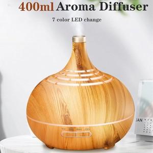 Image 2 - Umidificador de ar ultrasônico de 400ml, com aplicativo, controle de névoa, difusor de aroma, óleo essencial, luz noturna de led, escritório em casa