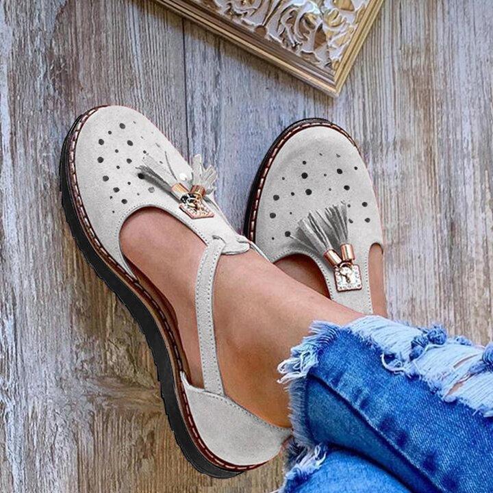 2020 women Tassel Sandals arch support