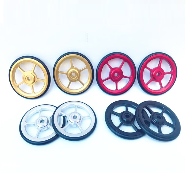 Modification Easy wheel Kit Outdoor Bolts Attachment For Brompton 2Pcs