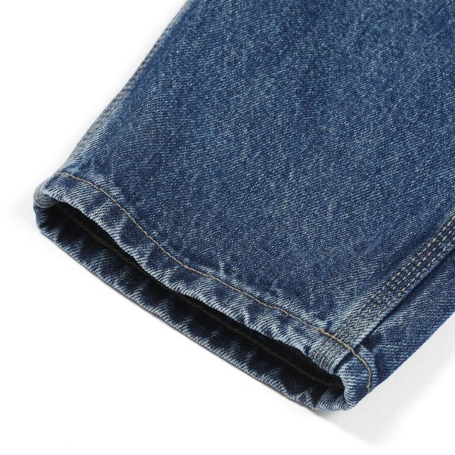 Streetwear jeans with ankle-length
