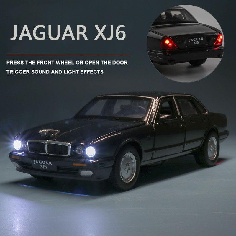 carrinho de brinquedo colecionavel jaguar xj6 132 04