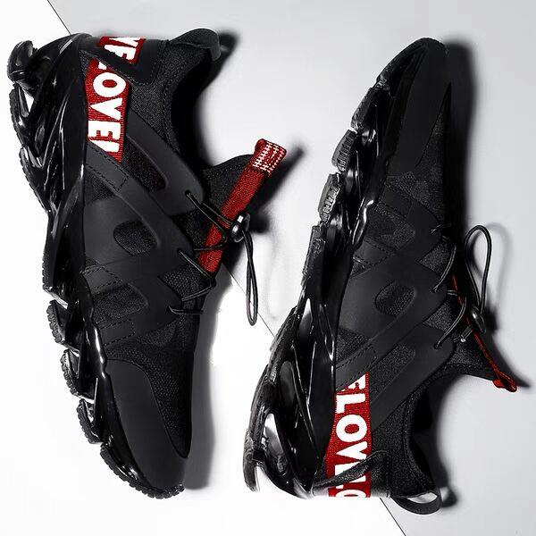 Summer Outdoor Spor Ayakkabi Erkek Male Sneakers For Running Shoes Men's Sport Shoes Sports Black Athletic Krasovki Tennis C-202