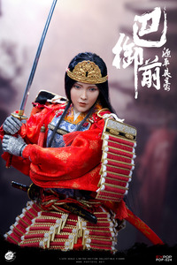 Image 5 - POPTOYS EX024 A, японская героиня генпеи, Томоэ гозен, с металлической броней, 1/6, фигурка, стандартная версия