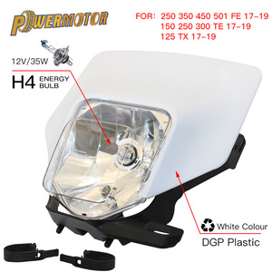 Image 1 - Linterna para cabeza de faro de motocicleta, para Husqvarna te 300 2018 te250 fe te tx fe350 250 350 450 501300 2017 2019