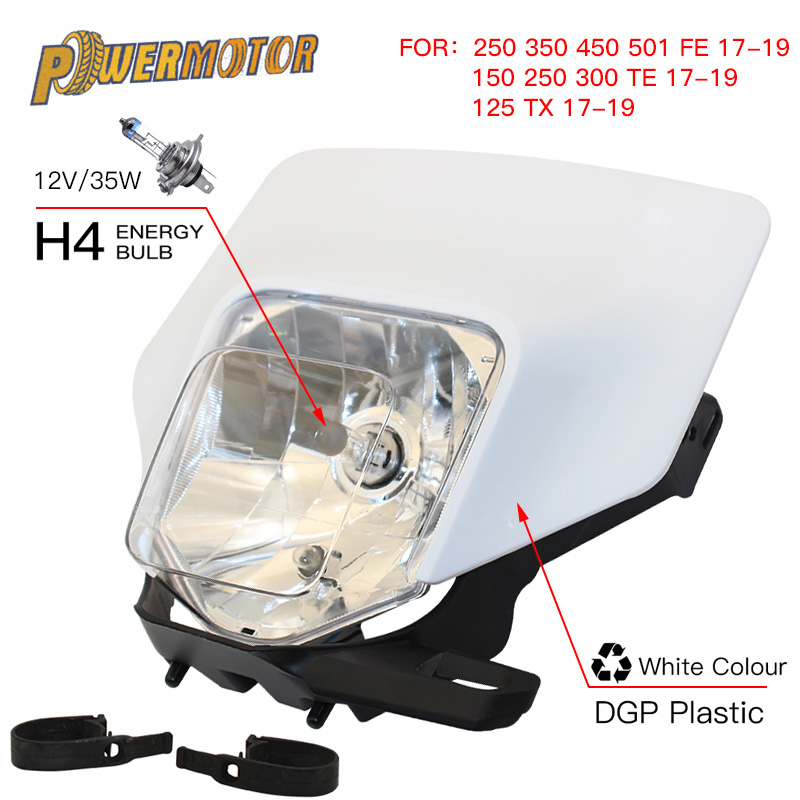 Motorcycle Headlight Headlamp Head Lamp Light For Husqvarna te 300 2018 te250 fe te tx fe350 250 350 450 501300 2017 2019