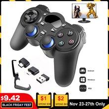 2.4G Controller Gamepad Android Wireless Joystick Joypad con OTG Converter Per PS3/Smart Telefono Per Tablet PC Smart TV Box