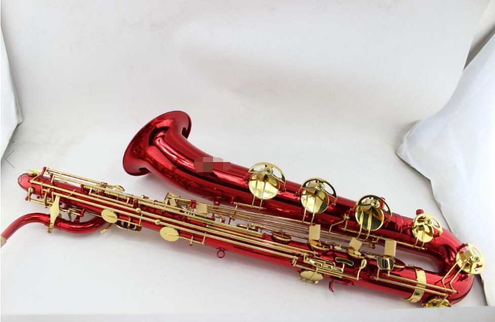 Minitasche Saxophon Saxophon Musikinstrument rot