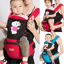 LOOZYKIT Baby Carrier Infant Kid Baby Hipseat Sling Front Facing Kangaroo Baby Wrap Carrier for Baby Travel 0-18 Months