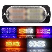 1PCS Car Flash Light Led Flashing Lamp Truck Motorcycle Flasher Strobe 12V Warning Day Running Emergency Lights
