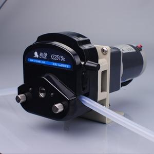 Image 1 - Bomba peristáltica de transferencia de líquido con soporte de máquina de embalaje de motor DC
