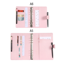 A5/a6 Clipboard Folder Portfolio Multi-function Imitation Leather Organizer Office Manager Clip Writing Pads Legal Paper