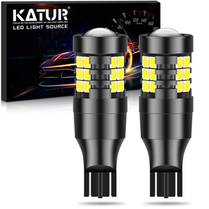 2x T15 LED Canbus W16W T16 Error Free 921 Backup Reverse Lamps Car Lights for Kia BMW VW Audi Mercedes Benz Skoda Ford Peugeot