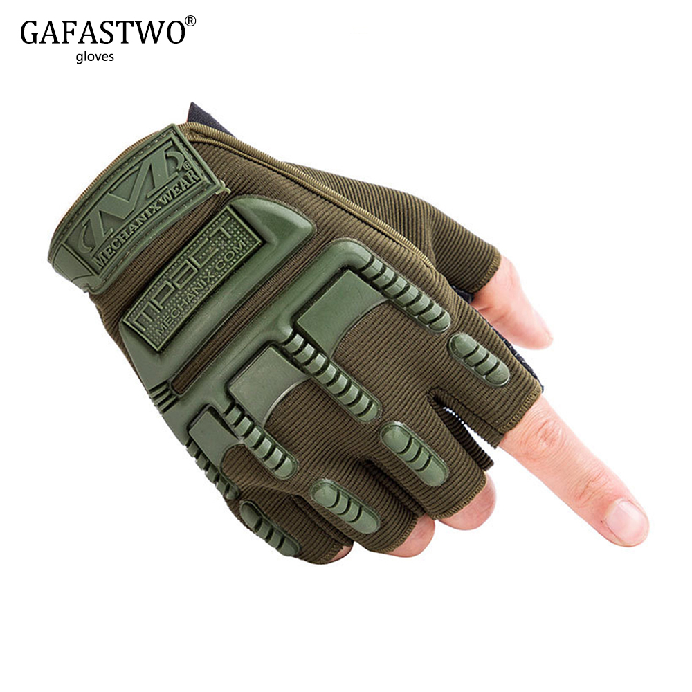 Army Fan Half Finger Tactical Gloves Men And Women Outdoor Sports Climbing Gloves Special Forces Combat Combat Gloves