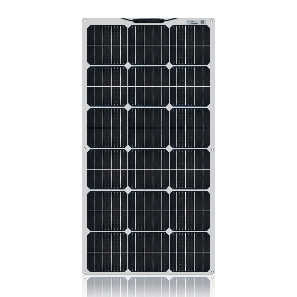 100 Watt 12 Volt Extremely Flexible Monocrystalline Solar Panel 18v 100w (7)