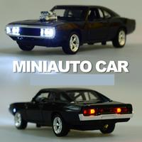 Ant 1:32 Model Cars Simulation Dodge War Horse Car Toy Speed and Passionate Sports Car Model Alloy Car Model Boy Kids Toys