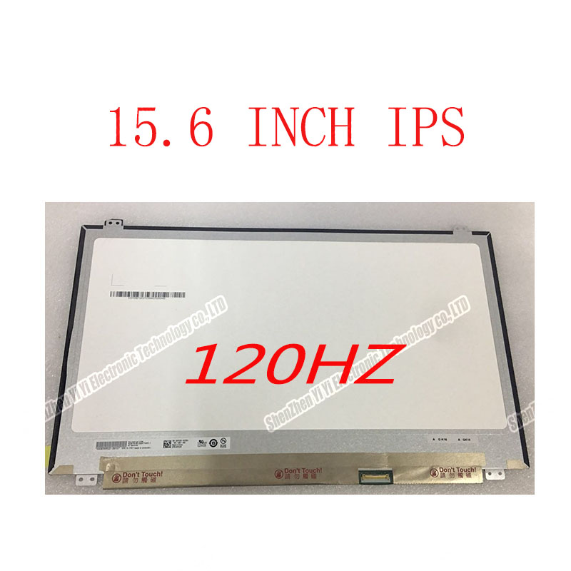 Free Shipping 15.6 120 Hz LED Screen94% Color Gamut FHD SILM LCD SCREEN N156HHE-GA1 Fit B156HAN04.5 B156HAN04.2 1920*1080 30PINS