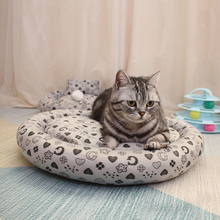 Removable Cat Bed Mat Short Plush House for Window Cats Basket Small Pet Warm Puppy Kennel Nest Cushion Products S-XL