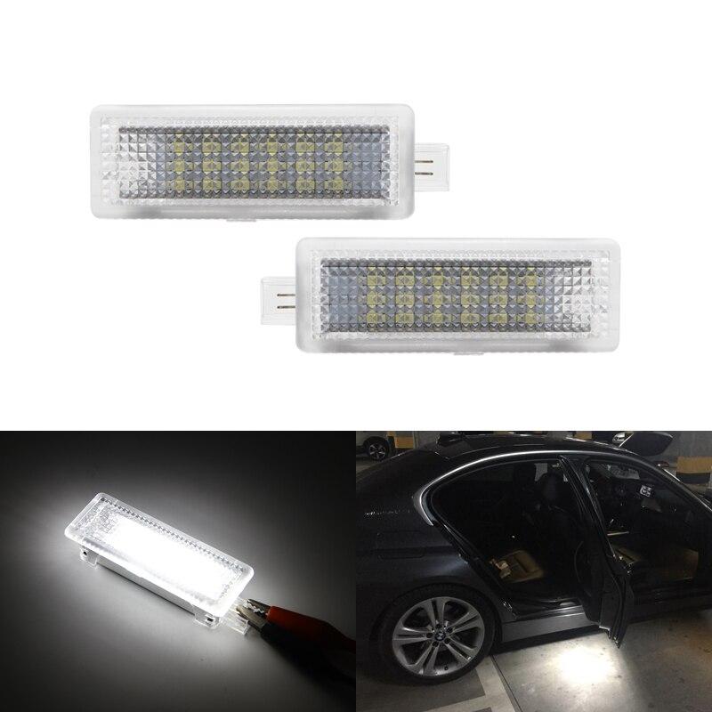 Для BMW F01N/F02N/F03N F30 F31 F32 F34 F10LCI F11LCI 2 шт. SMD Led дверь вежливость интерьер Footwell багажник свет лампы