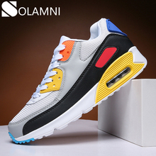 Air Cushion Sneaker Men Breathable Mesh Sneakers For Male Casual Shoes Outdoor Walking Jogging Footwear Unisex Couple Flat Shoe