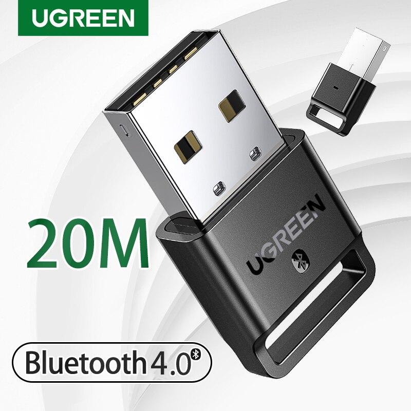 USB Bluetooth-передатчик Ugreen, приемник 4,0, адаптер, ключ aptx, беспроводные наушники, ПК, музыкальный приемник, аудио Bluetooth-адаптер