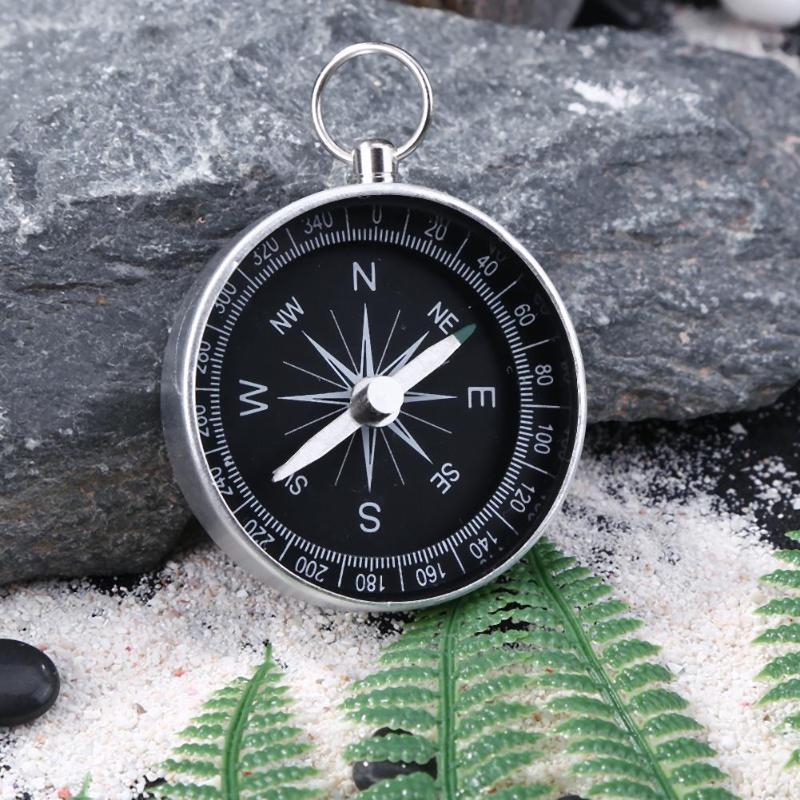 Легкий Карманный Брелок для путешествий, кемпинга, туризма, компаса, инструмент, портативный алюминиевый аварийный компас, навигация, инстр...