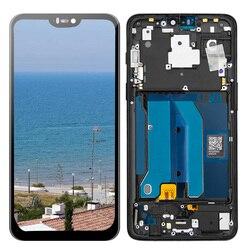 Wyświetlacz LCD do Oneplus 6 Six One plus 6 1 + 6 ekran dotykowy Digitizer wyświetlacz Lcd z ramą naprawa część dla 1 + 6 A6000 A6003
