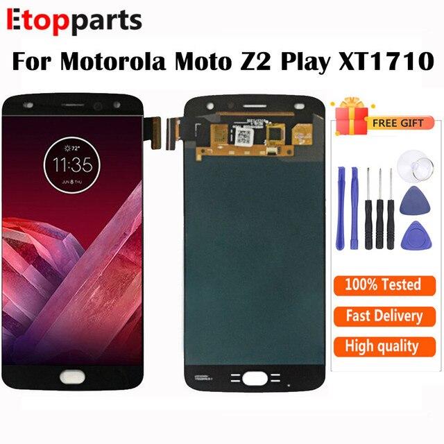 5.5 pollici OLED Per Motorola Moto Z2 Gioco LCD XT1710 02 XT1710 06 XT1710 Display Touch Sostituzione Dello Schermo di Trasporto libero