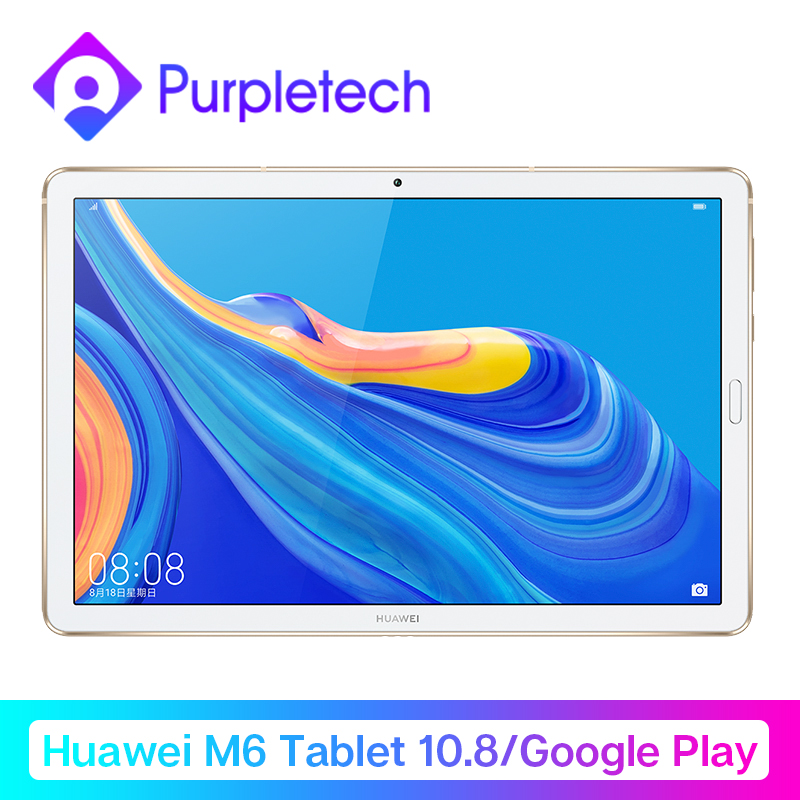 Huawei Mdiapad M6 Tablet Android 10.8'' WIFI Table PC  Kirin 980 Octa Core Android 9.0 Google Play Fingerprint ID GPU3.0 7500mAh