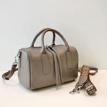 Женская сумка Бостон из мягкой воловьей натуральной кожи роскошные
