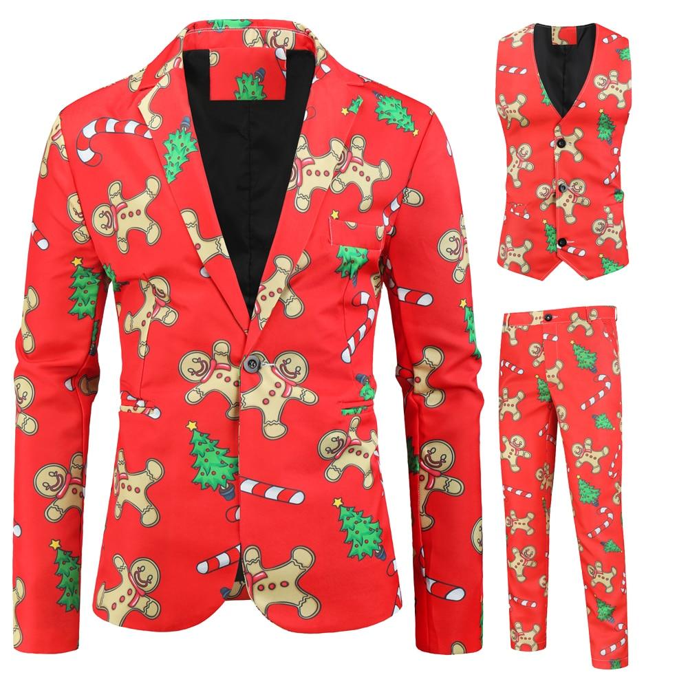 Floral Print Suit Blazer Man Fashion Casual Slim Fit Men Suits Plus Size Stage Singer Costume Can Be Single Sale