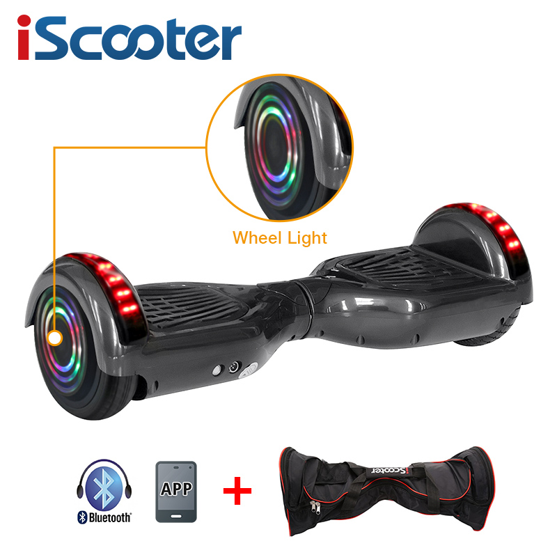 iScooter Self Balancing Hoverboard or two-wheel Skateboard with LED Light 9