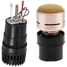 Cartridge for SM56 / SM57 Microphone & N-M182 Microphone Cartridge Dynamic Microphones Core Capsule Universal Mic