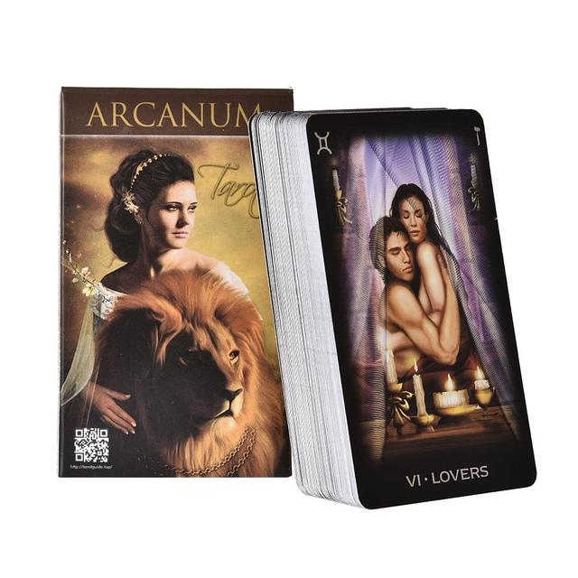 78 Arcanum Tarot card games best family party game Amazing  entertainment for friends vivid imagery