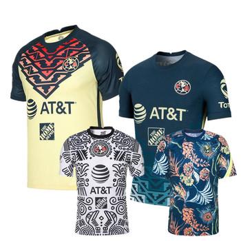 2021 2022 Liga MX Club America koszulka piłkarska koszulki domowe R Martinez GIOVANI koszulka piłkarska tanie i dobre opinie COZOK CASUAL SHORT CN (pochodzenie) POLIESTER Cztery pory roku SPORTS Z okrągłym kołnierzykiem tops Z KRÓTKIM RĘKAWEM