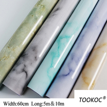 Home Decor 3D PVC Marble style Wall Stickers Paper Brick Stone wallpaper Rustic Effect Self-adhesive Sticker Room