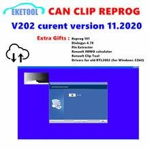 Pode clipe reprog mais novo lançado pode clipe v202 + reprog 191 downoad weblink com extra presentes software