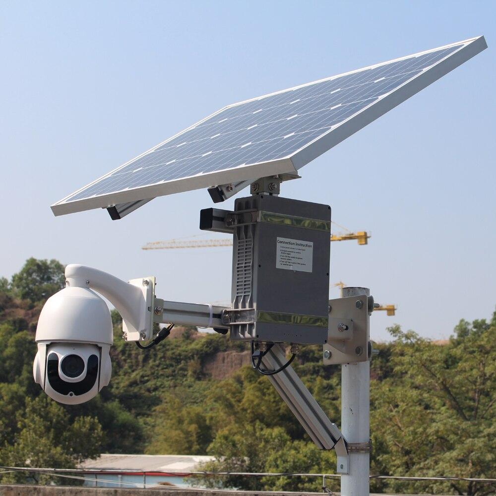 1080P sony étoile lumière 4G caméra solaire ip ptz carte sim fente sécurité extérieure cctv sans fil wifi avec carte d'enregistrement 128G