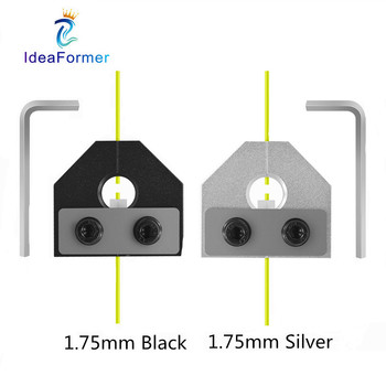 3D Printer Parts Filament Welder Connector 1.75mm PLA ABS Filament Sensor For Ender 3 Pro Anet SKR 3D Printer Aluminum Block. creality ender 3d printer ender 3 or ender 3 pro diy kit meanwell power supply for 1 75mm pla abs petg from russia