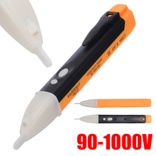 1pc AC Non-Contact Electric Indicator Test Pen Voltage Detector Sensor Socket Tester 90-1000V LCD With LED Light socket wall ac power outlet voltage detector sensor tester electric test pen led light voltage indicator 90 1000v drop ship
