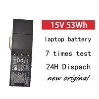 Bateria ap13b3k do portátil de gzsm para acer aspire r7 M5 583p séries ap13b para o portátil 4lcp 6/60/80 3560mah 15 v bateria battery for acer aspire battery for acer laptop battery -