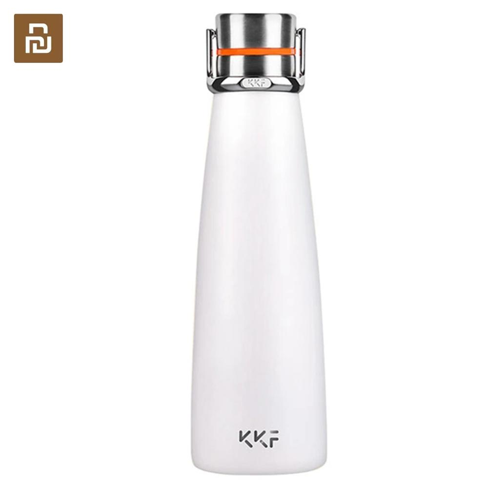 Fast ship Youpin kiss kiss fish smart Vacuum insulation bottle with 3 filter OLED Temperature Screen smart Sensor CC  Cup