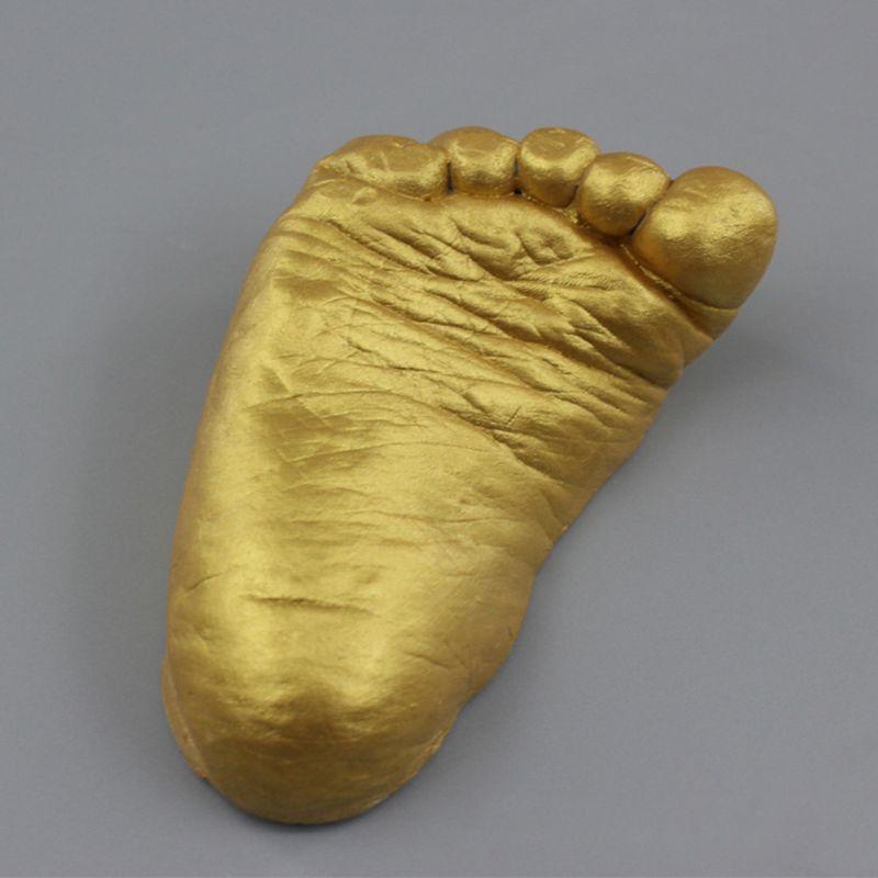 3D Plaster Handprint Footprint Baby Mould Hand&Foot Casting Prints Kit Cast Gift DIY Casting Set