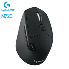 Logitech M720 Triathlon Multi-Device Bluetooth Wireless Mouse Unifying Dual-mode Gaming Mouse Office Mice For Desktop Laptop PC