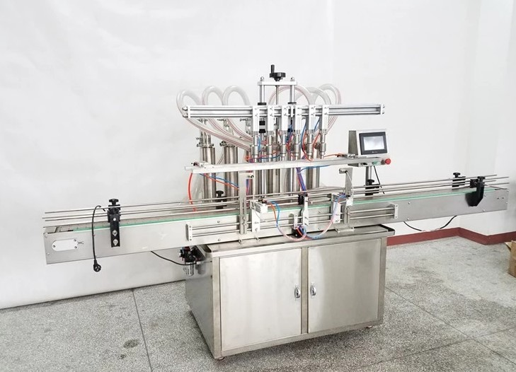 Liquid Filling Machine Automatic Liquid Filler liquid wine filling machine,Piston beverage filler juice packager Food & Beverages Machines