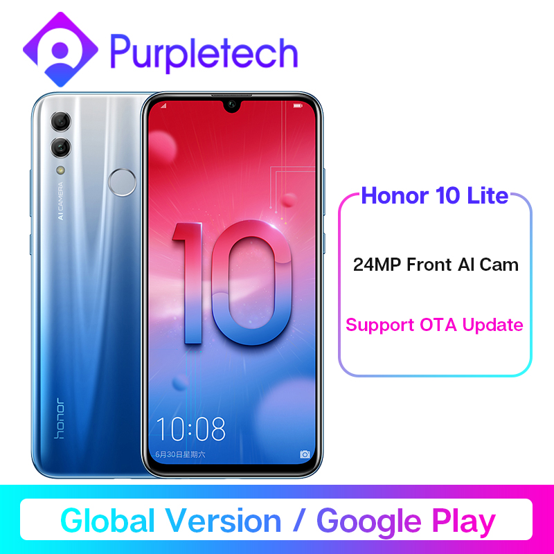Global Version Honor 10 Lite Smartphone Kirin 710 Octa Core  6.21