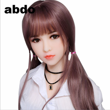 100cm Eyes closed Lifelike Real Sex Doll, Full Size Silicone with skeleton Love Doll, Oral Vagina Pussy Anal Adult Doll#