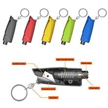 Rescue-Tool Keychain Seat-Belt-Cutter Escape Safety-Hammer Car-Window-Breaker Life-Saving
