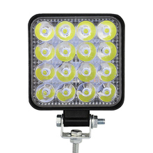 27W 42W LED Work Light Flood Beam Fog Lamps High Brightness for Car Off-Road Driving WWO66